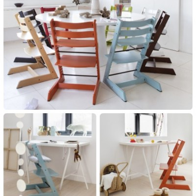 Stokke announces new orange and blue Tripp Trapp colours