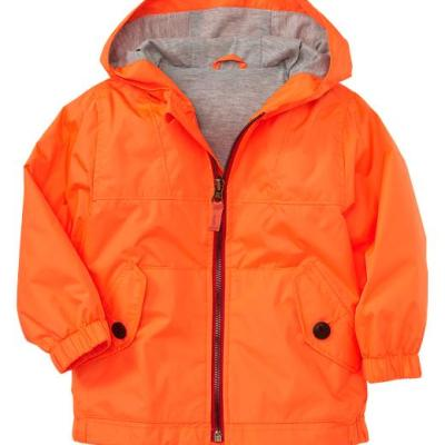 Hot on the high street: Gap neon orange jacket