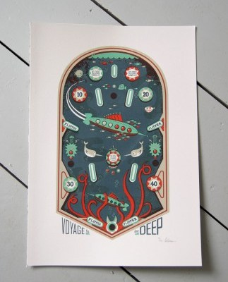 Peskimo pinball prints
