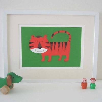 String animal giclee prints