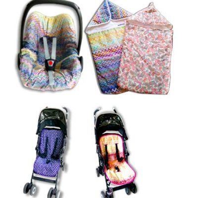 Hotness! Livyluloo seat liners for pushchairs & baby car seats