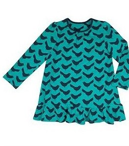 Hot on the high street: Boots bird tunic dress