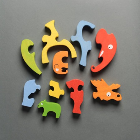 Sevenly Moose and Elephant Puzzle