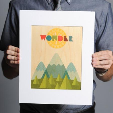 Sevenly Wonder Print