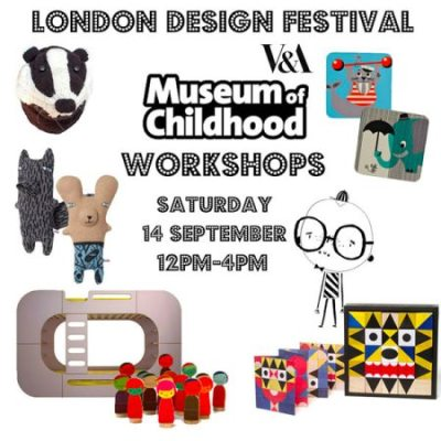 London Design Festival workshop at V&A Museum of Childhood + Molly-Meg popup shop