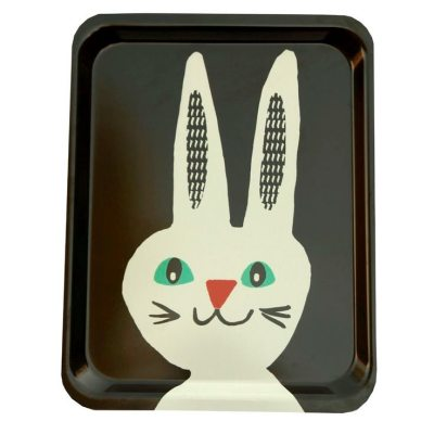 Rabbit tray by Becky Baur