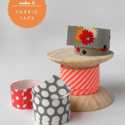 Make Your Own: Fabric tape