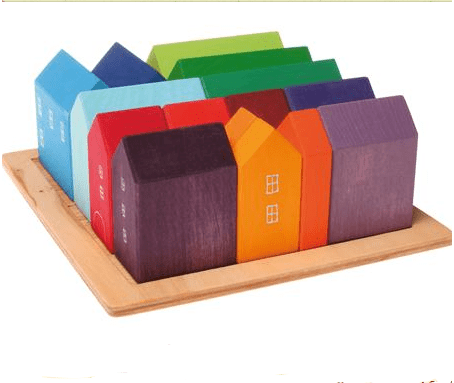 Myriad stacking houses