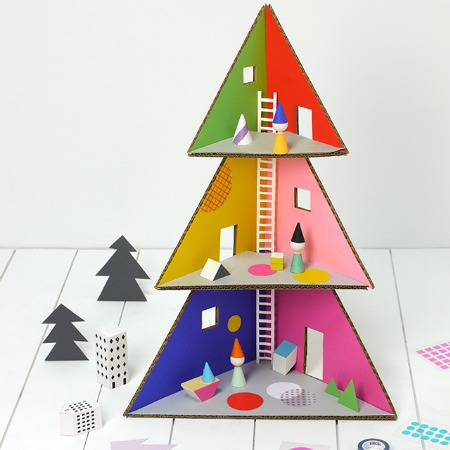 Christmas Tree Dolls House Printable