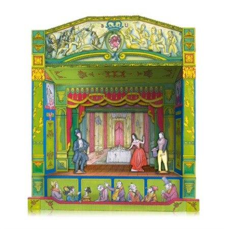 Beckman Unicorn Dickens Toy Theatre with Great Expectations