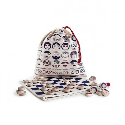 Les Jouets Libres Mesdames and Monsieurs chequers set