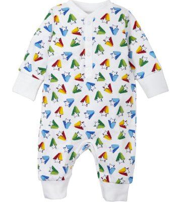 Hot on the high street: Mothercare Little Bird shooting star babygro