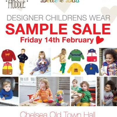 Tootsa MacGinty, Belle & Boo, Picaloulou and Ruff & Huddle sample sale on Valentine's Day