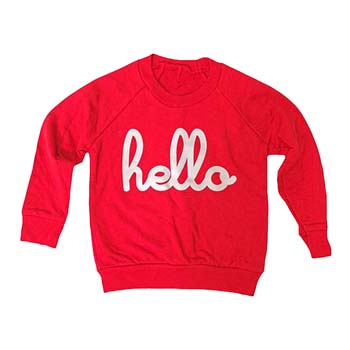 Hello Apparel At Yellow Lolly