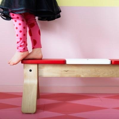 IKEA PS balancing bench