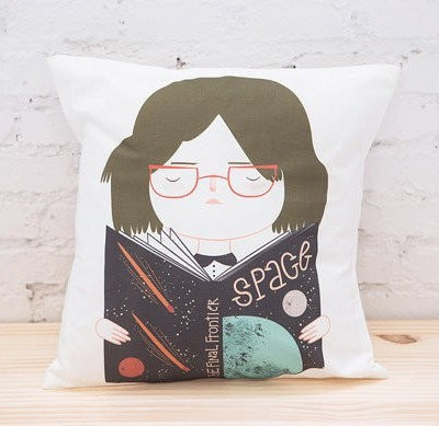 Pai & Pear Space Girl cushion