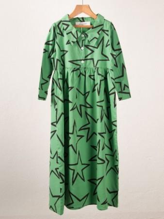 Cotton sateen princess dress