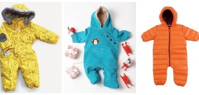 Winter warmers: super snow and pram suits