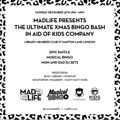 For the mamas: MADLife/Kids Company party