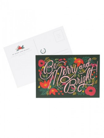 Rifle Paper Co postcard
