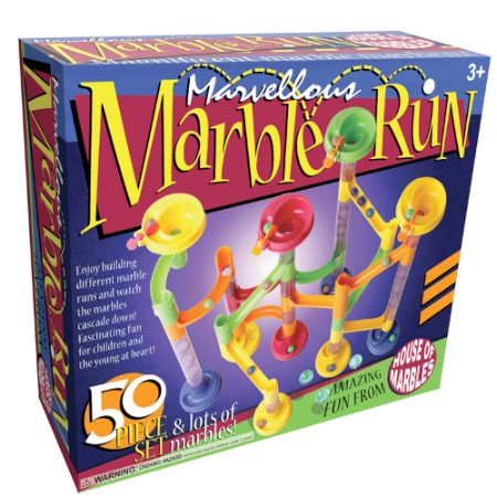 Marvellous Marble Run 50-piece set