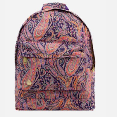 Backpacks with popping prints by Mi Pac
