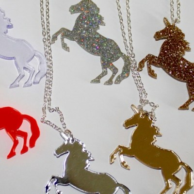 Swoop: Unicorn Necklaces