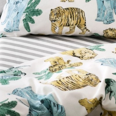 Hot on the high street: H&M jungle duvet cover