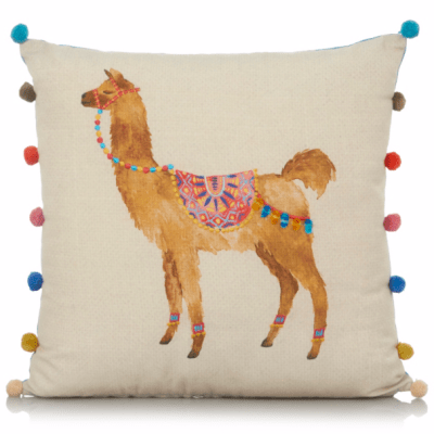 Hot on the high street: George Home Llama Cushion