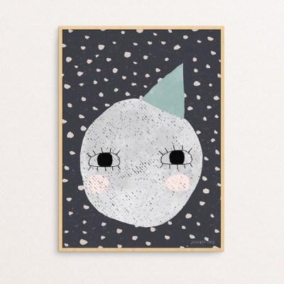 Seventy Tree Moon Print