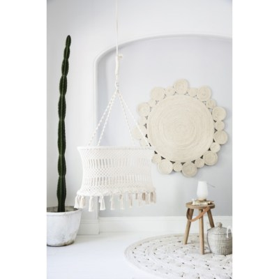 Covetable: Olli Ella macrame bassinet