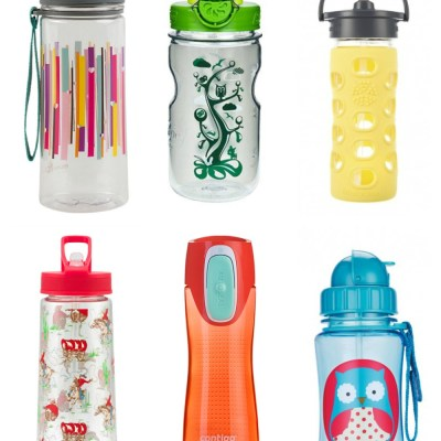 Back to school: wonderful water bottles