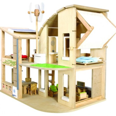 Hot Buy Of The Day: Half price Plan Toys green dollhouse