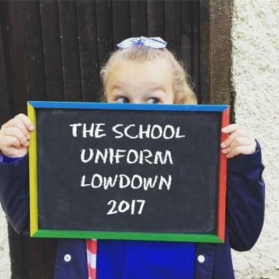 The School Uniform Lowdown 2017