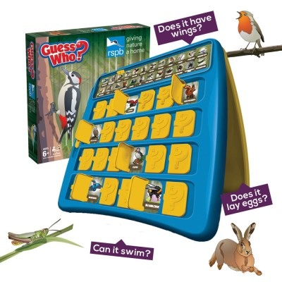 RSPB Guess Who? game