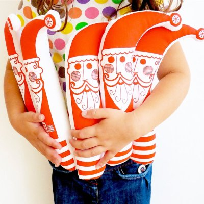 Retro Scandi Toy Father Christmas from Jane Foster