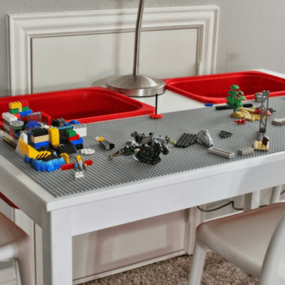 5 brilliant DIY Lego table ideas