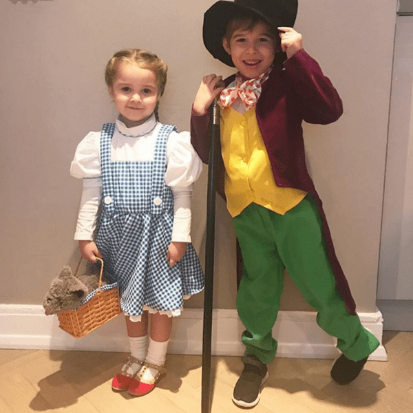 Dorothy and Willy Wonka