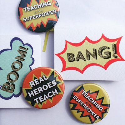 Last chance to order teacher badges