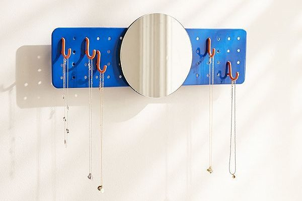 Hot on the high-street: Mirrored Pegboard Wall Hook