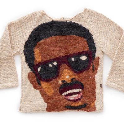OEUF NYC Baby Alpaca Wool Stevie Wonder Jumper