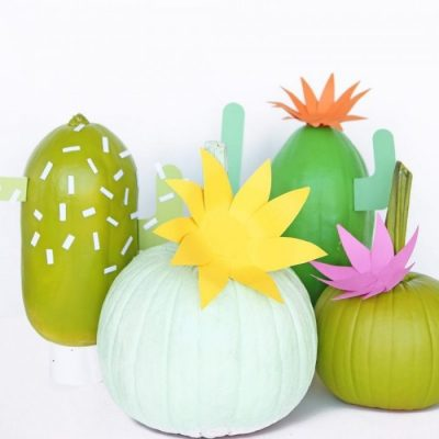 Five Fab: last-minute easy pumpkin ideas