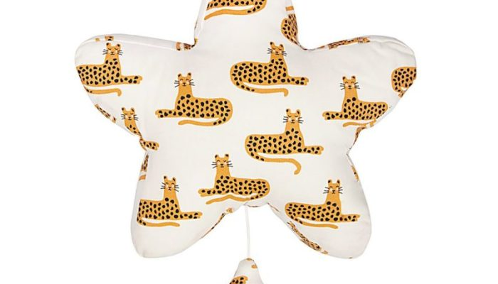 Trixie cheetah musical mobile