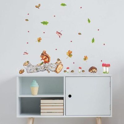 Katherine Griffin woodland wall stickers