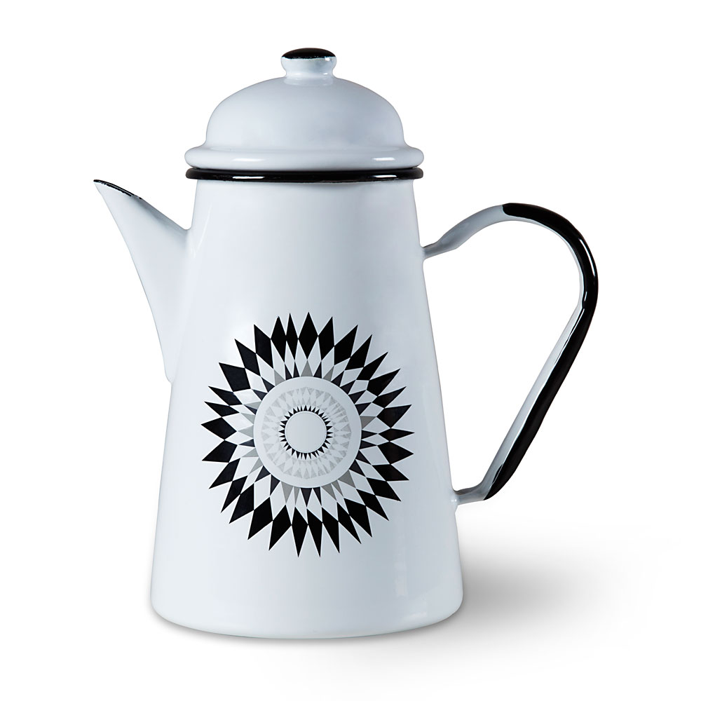 Enamel ISAK coffee pot