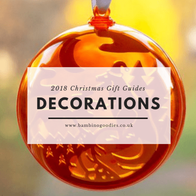 BG Christmas Gift Guide 2018: Decorations