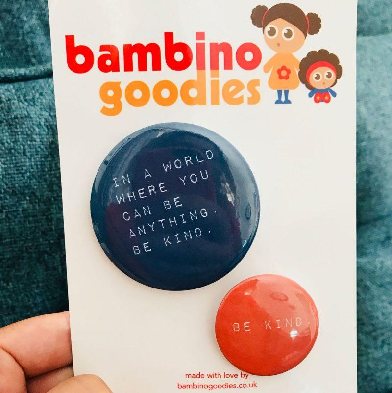 Be Kind badge set