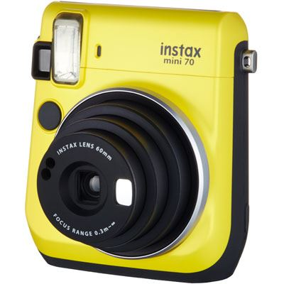 Fujifilm Instax Mini 70 Instant Camera, £84, Wex Photo.