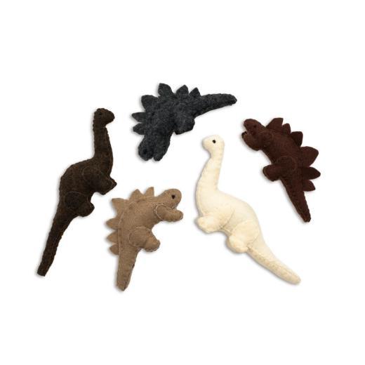 Felt Dinosaurs