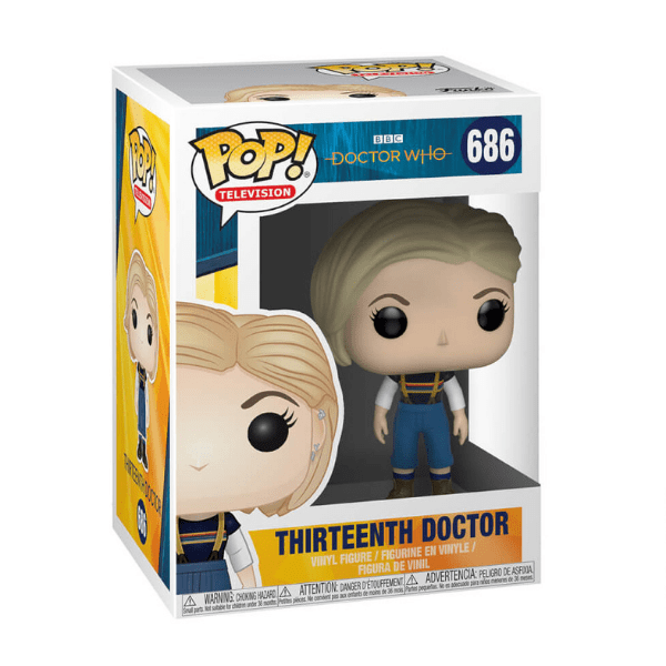 Pop Vinyl Thirteenth Doctor, £9.99, Pop in a Box.